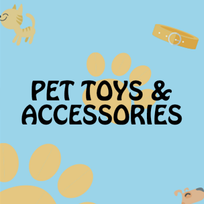 Pet Toys & Accessories